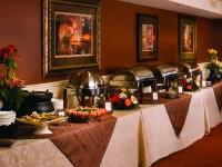 Iberville Room buffet setup