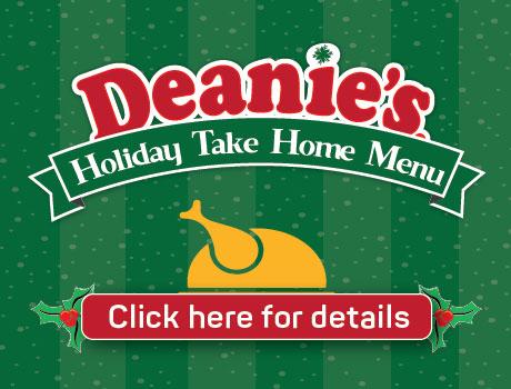 Holiday Take Home Menu Deanie's Seafood