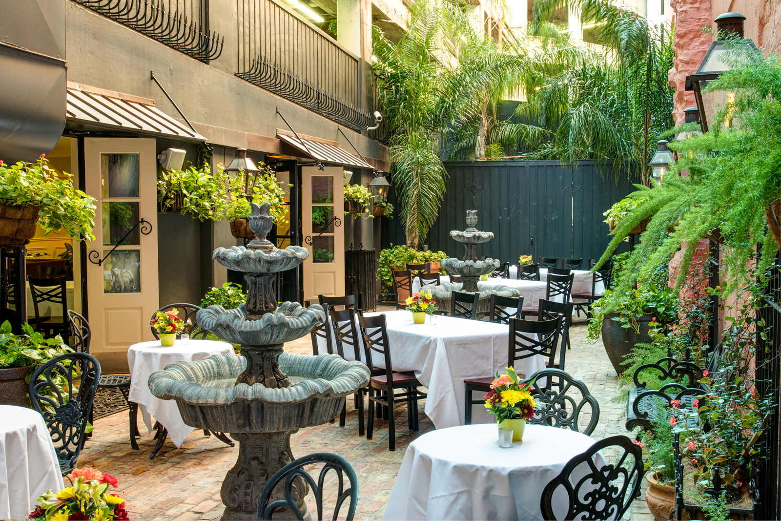 French Quarter Private Party Venue with courtyard in New Orleans Louisiana